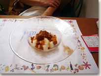 豆腐のティラミス 珈琲のグラニテ