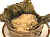 きのこ入り中国式おこわ蓮の葉包み ≪151kcal≫